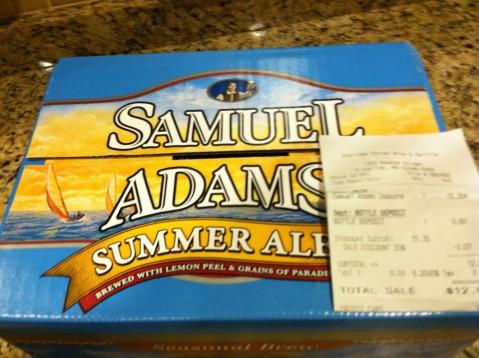 Labor Day weekend beer sale sam-adams-e1346435682922