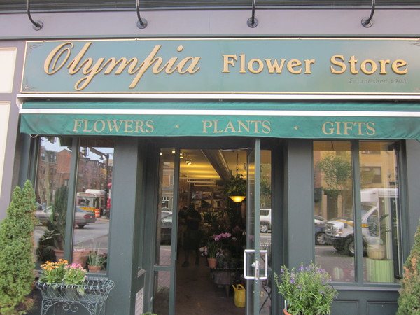 olympia flower store