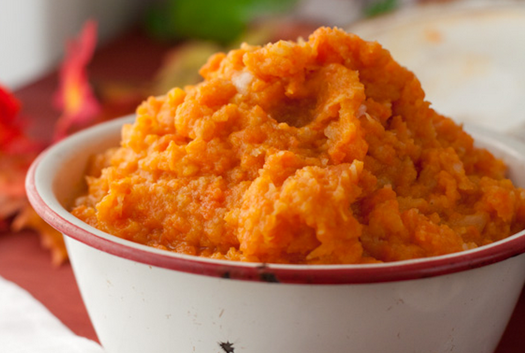 Mashed turnips carrots